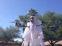 Un hombre crea un drone fantasma para aterrorizar a su barrio de Arizona