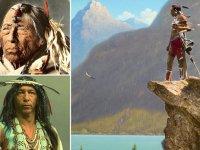 Impresionantes fotografías a color que muestran la vida de los nativos americanos en el siglo XIX