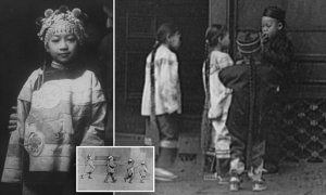 Fotografías en blanco y negro revelan la vida familiar en el barrio chino de San Francisco antes de que fuera destruido por el terremoto de 1906