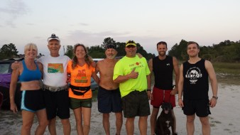 Runners at Harns Marsh
