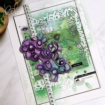 A Blog Hop to Kick Start Your Art with Kiala Givehand's Mixed Media Inspiration Deck