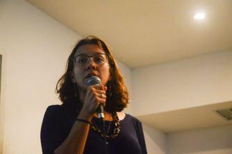 Elaine Luz, Ciclana adevogada arrasando em sua fala