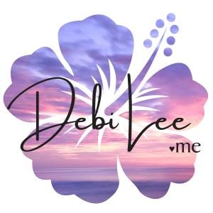 DebiLee.me hibiscus logo