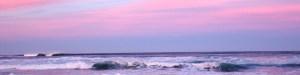 full width page separator - ocean waves