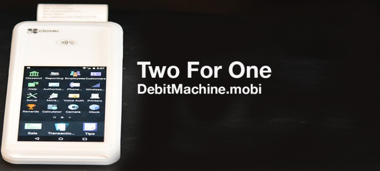 Two For One DebitMachine.mobi