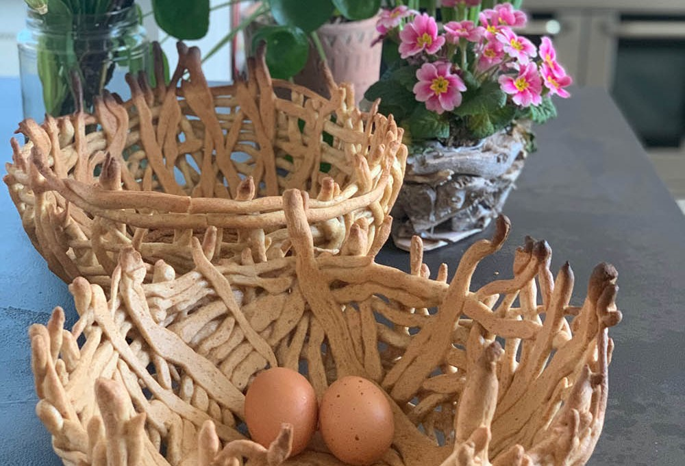 Nestbrood om de Lente te vieren