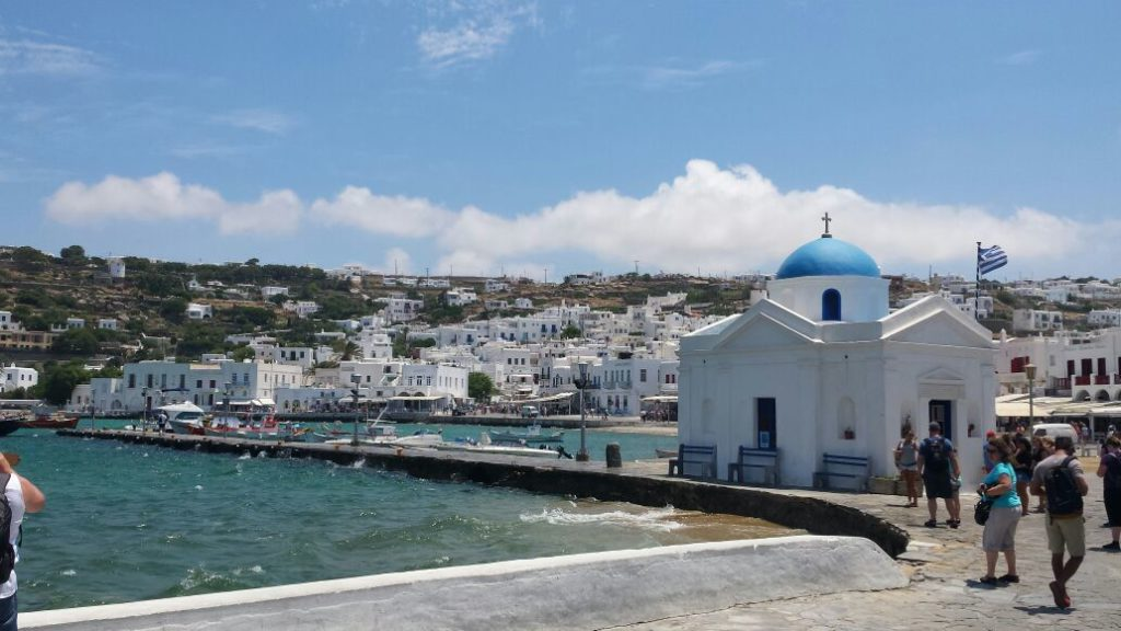 Um passeio pelas ilhas gregas – Mykonos