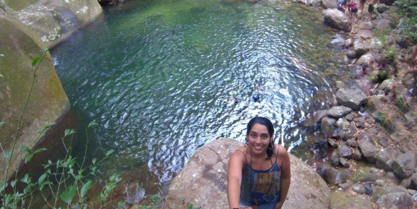 Cachoeira da Concórdia, em Guapimirim