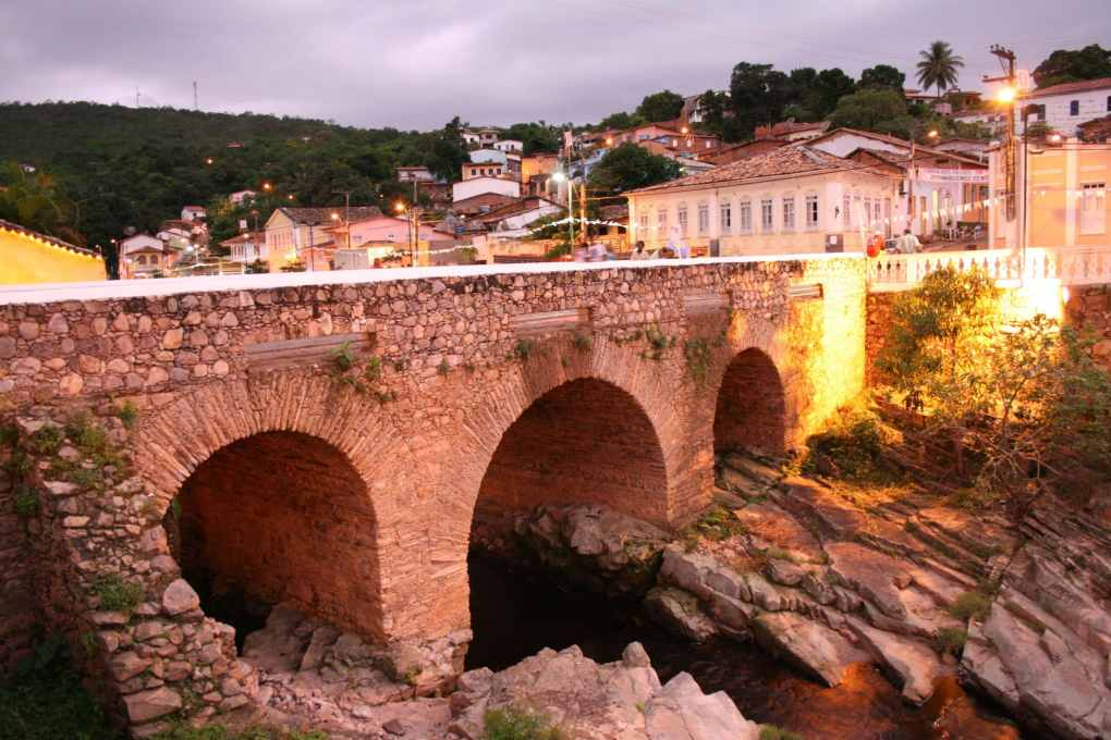 Ponte sobre o Rio Lençóis, Chapada Diamantina.