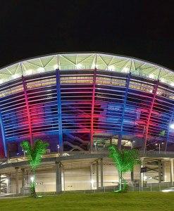 Futebol na Arena Itaipava Fonte Nova. Brasileirão série A
