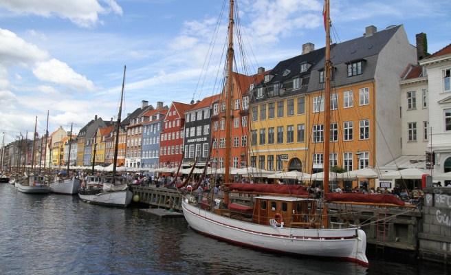 Copenhague, la carte postale