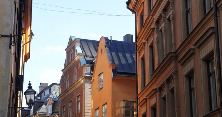 Stockholm au soleil