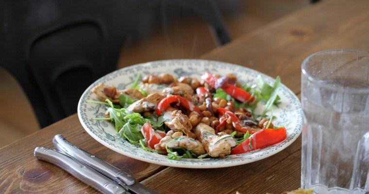 Salade colorée chaude & froide