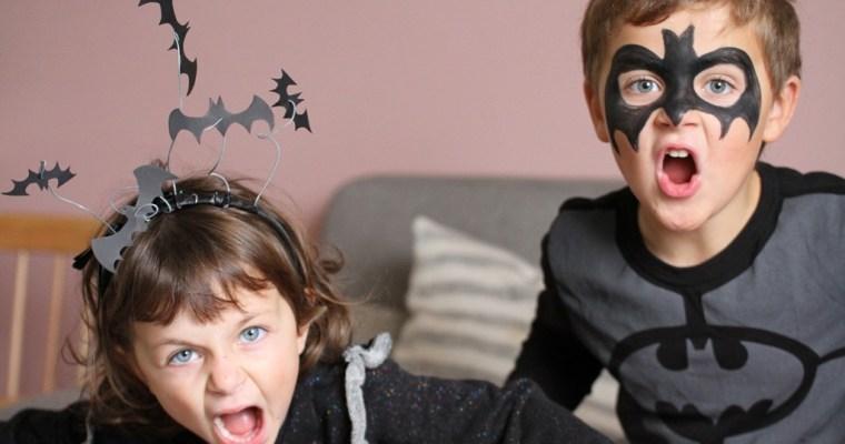 Des chauves souris pour Halloween