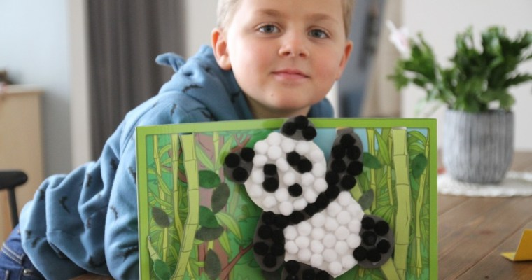 Un panda avec Pandacraft