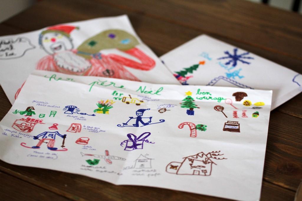 Nos listes au Père Noël