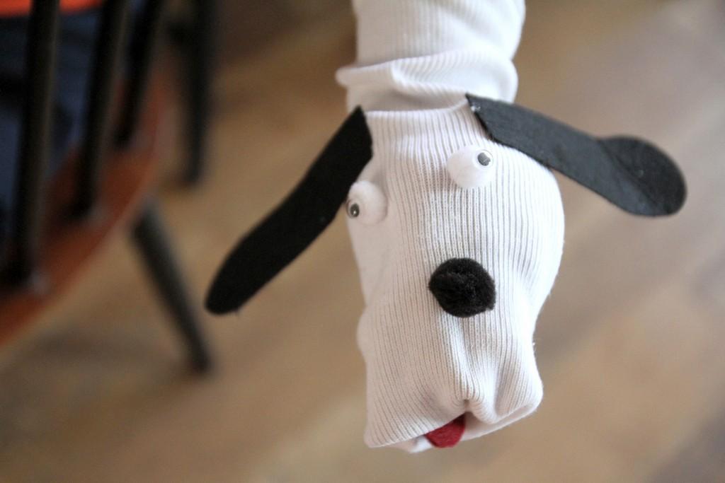 L'indemodable chaussette marionnette