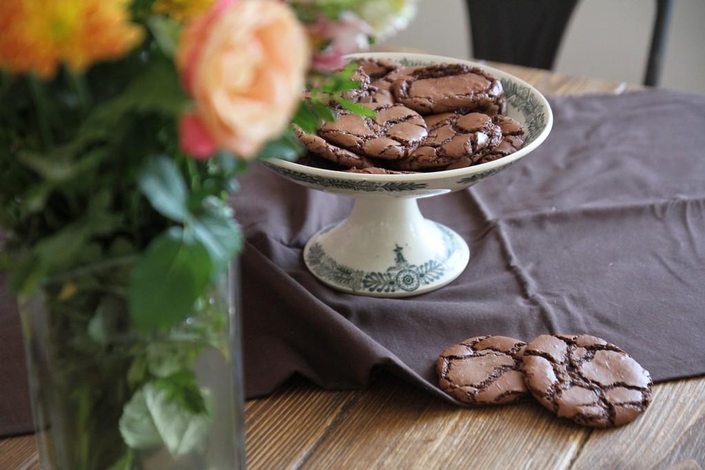 Les biscuits tout chocolat