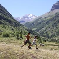 Nous cinq dans les Hautes Alpes