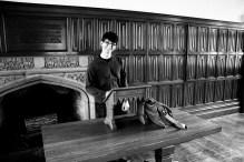 The English Room (An English teacher at his perch)