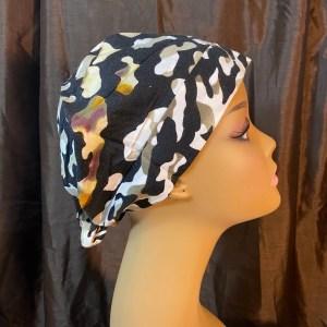 camo design scrub hat