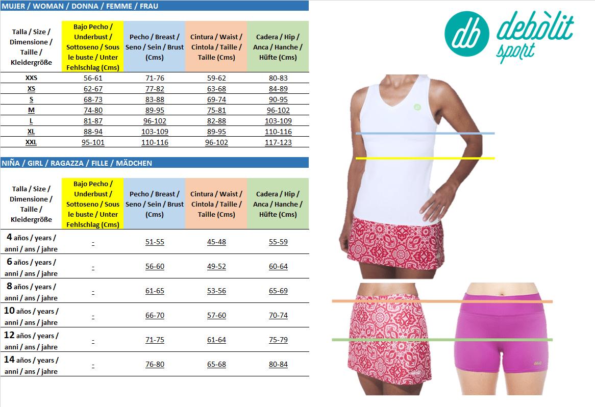 guia para comprar ropa de padel para mujeres online debolit