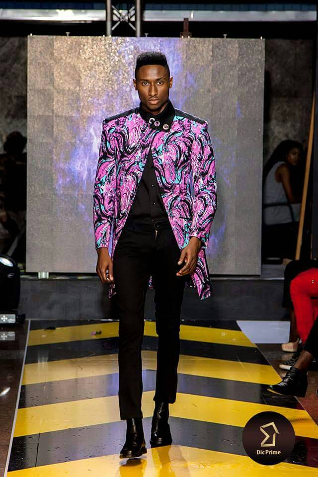Leopold Seyram Kwao Fiercely Look On The Runway