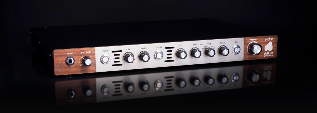 vidur bass preamp left