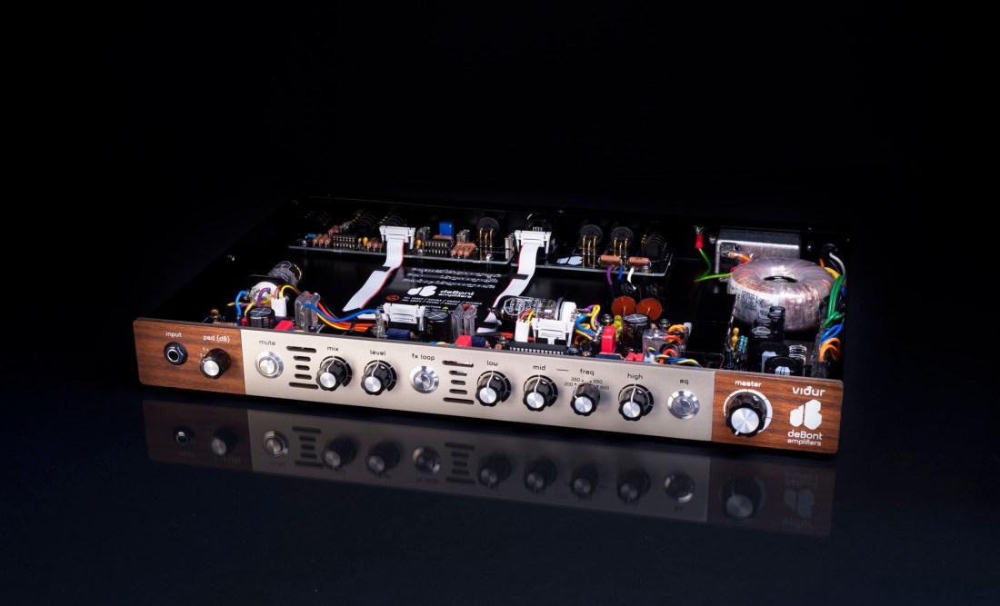 vidur bass preamp open