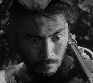 Tajômaru, the notorious gangster being played by Toshirô Mifune