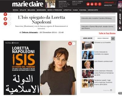 L'Isis spiegato da Loretta Napoleoni