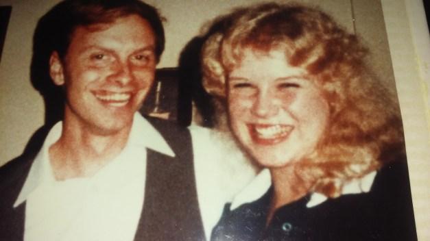 October 19, 1984 wedding rehearsal.