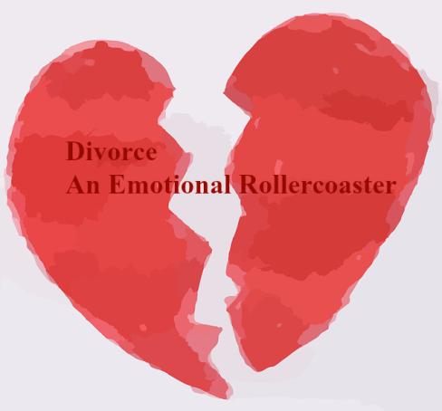 divorce-an-emotional-rollercoaster