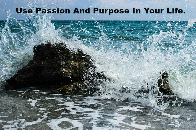 Use Passion And Purpose In Your Life.