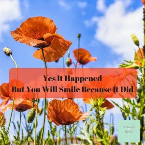 Yes It Happened But You Will Smile Becaisue It Did DBpsychology 1
