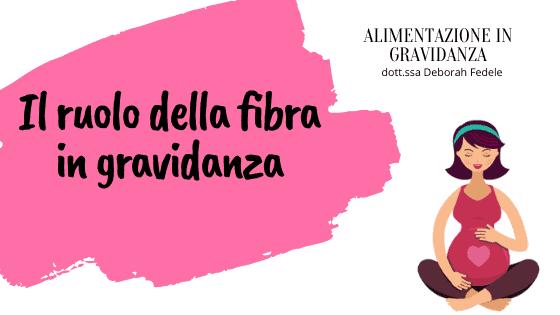 Il ruolo della verdura e della fibra in gravidanza.