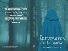 Incursores de la noche. 2ª edición. Ilustración, tipografía y composición.