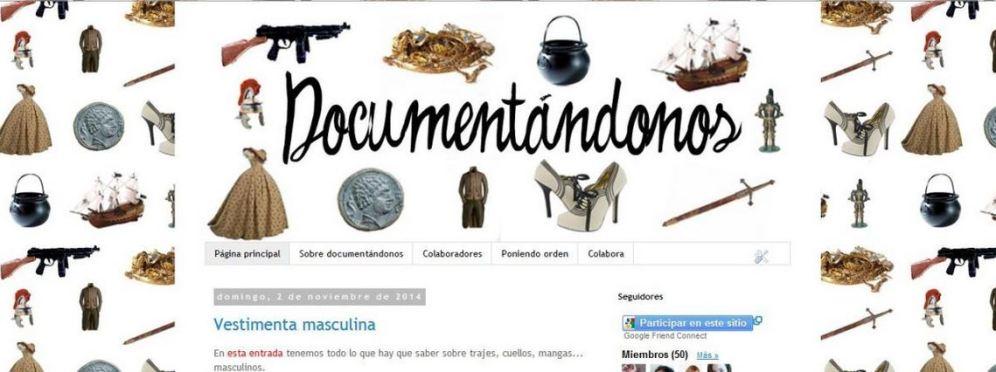 Diseño de un blog de documentación