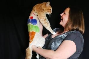 Ice Cream Cone by Deborah Hansen, CFMG, CFCG, creative cat grooming