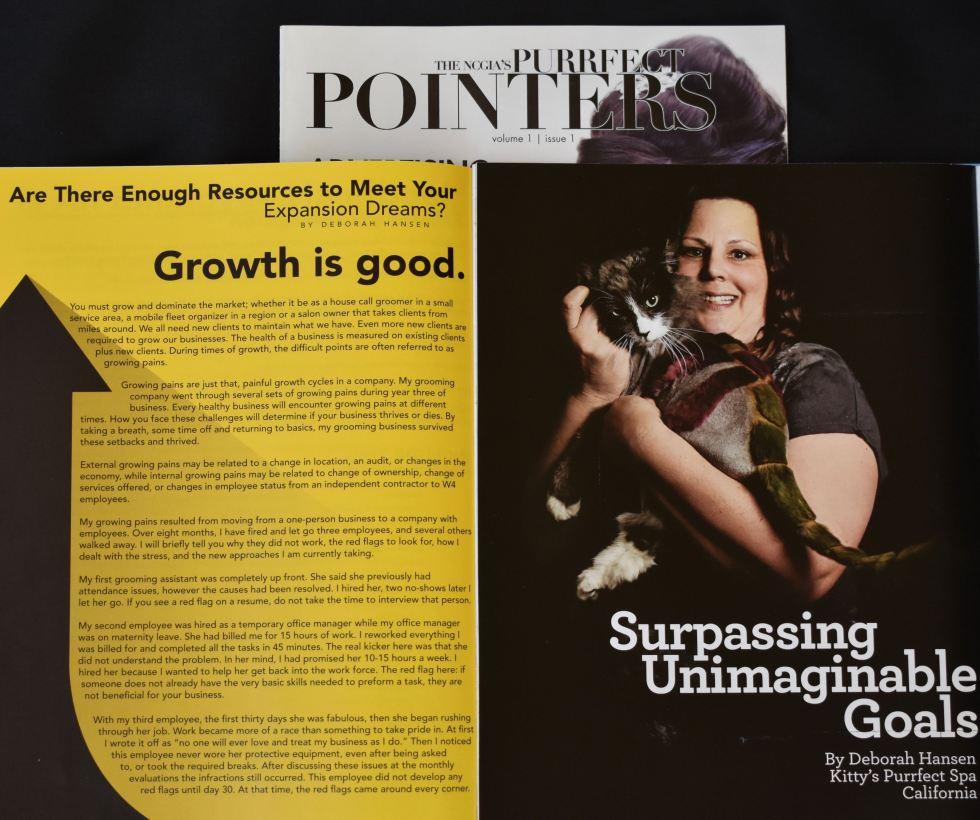 Purrfect Pointers, Deborah Hansen, CFMG, CFCG