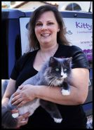 Owner of Kitty's Purrfect Spa, Deborah Hansen, CFMG, CFCG