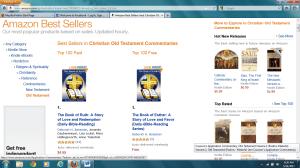 Amazon Best Sellers #1 Old Testament Pd and Free on 5 14 2012