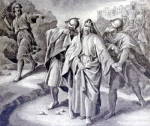 2 Samuel 15 David_fleeing_Absalom_22-114