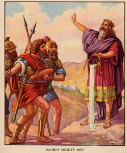 2 Samuel 23 David's Mighty Men