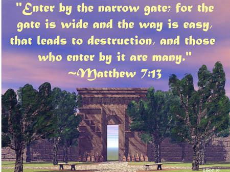 """The Narrow Gate"""