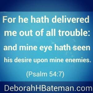 Psalm 54 7