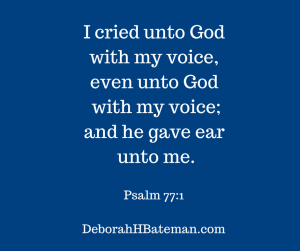 I cried unto God with my voice,even unto