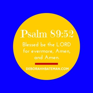 Psalm 89 52
