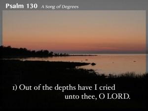 Psalm 130 1