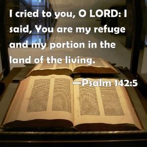Psalm 142 5
